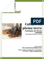 60 Culture Pleine Terre