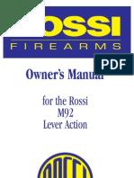 Rossi Manual M92