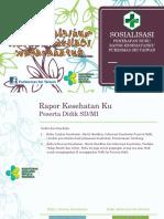Sosialisasi Buku Raport