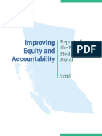 Independent Review Panel-final Report 2018