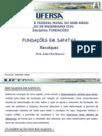 Aulas Fundacoes-ufersa-007 Sapatas Recalques