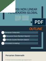 Inversi Non Linear Pendekatan Global_Kelompok 5