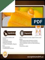 Receta Torta Naranja