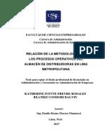 2017 Freyre Relacion Metodologia 5S Los Procesos Operativos Almacen