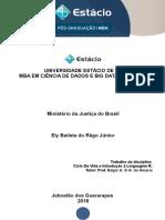 Fichamento - Estudo de Caso Ministério Da Justiça Do Brasil