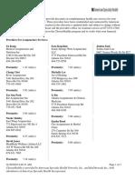 Acupuncturists List in Atlanta Area
