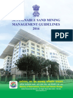 Final Sustainable Sand Mining Management Guidelines 2016