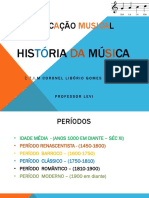 história da música