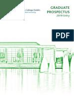 UCD Graduate Prospectus 2019