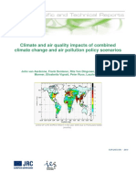 Climate and Air Quality Impacts of Combined