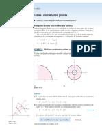 14.3 Integracion Cambio de Variable Coordenadas Polares