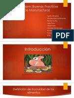Bpm (Buenas Practicas de Manufactura)