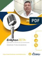 Proforma Voiceover Erikjhon ZETA - Voz off Febrero 2019