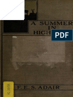 A Summer in High Asia by F. E. S. Adair