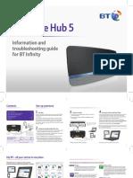BT Home Hub 5 Self Install Guide