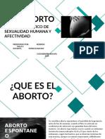 ABORTO Y EFECTOS