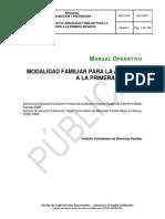MO13.PP Manual Operativo Modalidad Familiar Para La Atención a La Primera Infancia v1
