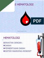 Fisiologi hematologi
