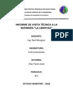 Informe de Visita a La Refineria