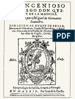 Estudio paleográfico Cervantes