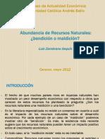 3.- Luis Zambrano Sequín - Bondades y Desafíos de Las Economías Petroleras