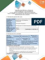 Guía de Actividades y Rúbrica de Evaluación - Fase 2 -Realizar Una Relatoria Que Describa Las Teorias de La Administración de La Unidad 1