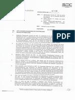 Oficio Circular SEC N° 2190