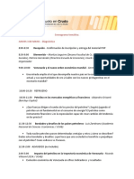 Congreso de Economia Ucab Cronograma Tematico y Esquema