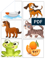 Animales Memorama