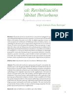Perea Restrepo - Cazucá Revitalización Del Hábitat Periurbano