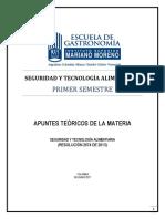 Seguridad y Tecnología Alimentaria