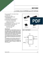 27C800 Datasheet (PDF) - ST Microelectronics