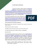 Factores psicosociales ENFERMERIA
