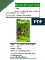 Robin Hood Game Aid by Liumas 2009-09