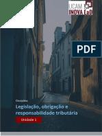 Legislação tributária - unidade 001 - PDF