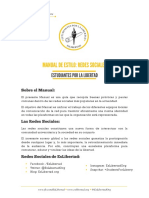 Estudiantes Por La Libertad - Manual de Redes Sociales