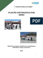 Plan de Contingencia Sismos