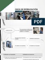 Metodos de Esterilización quiruúrgica