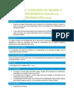 Bases Concurso de Imagen y Frase Representativa de La Confirmaciòn 2015