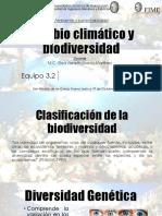 Cambio climatico y biodiversidad.