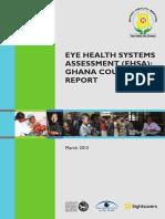 Ghana Eye Health System Assessment Report