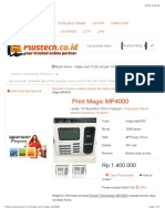 Finger Print Magic MP4000 | Plustech Komputer