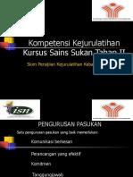 Topik 7 - Kompetensi Jurulatihan_l II -Zahari