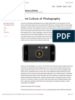 On the Nature and Culture of Photography | Masters of Media