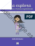 Silvia Exprora Estrategias Metacognitivas