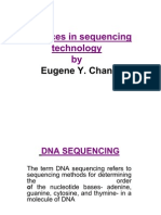 Next Generation Dna Sequencing Technology