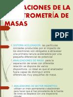 Aplicaciones de La Espectrometría de Masas