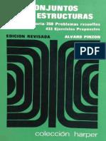 Conjuntos y Estructuras, 1975, (Edición Revisada) - Álvaro Pinzón Escamilla