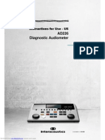 02 Instructions for Use - US AD226 Diagnostic Audiometer.pdf