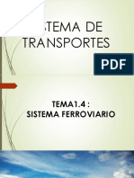Sistema de Transportes Tema